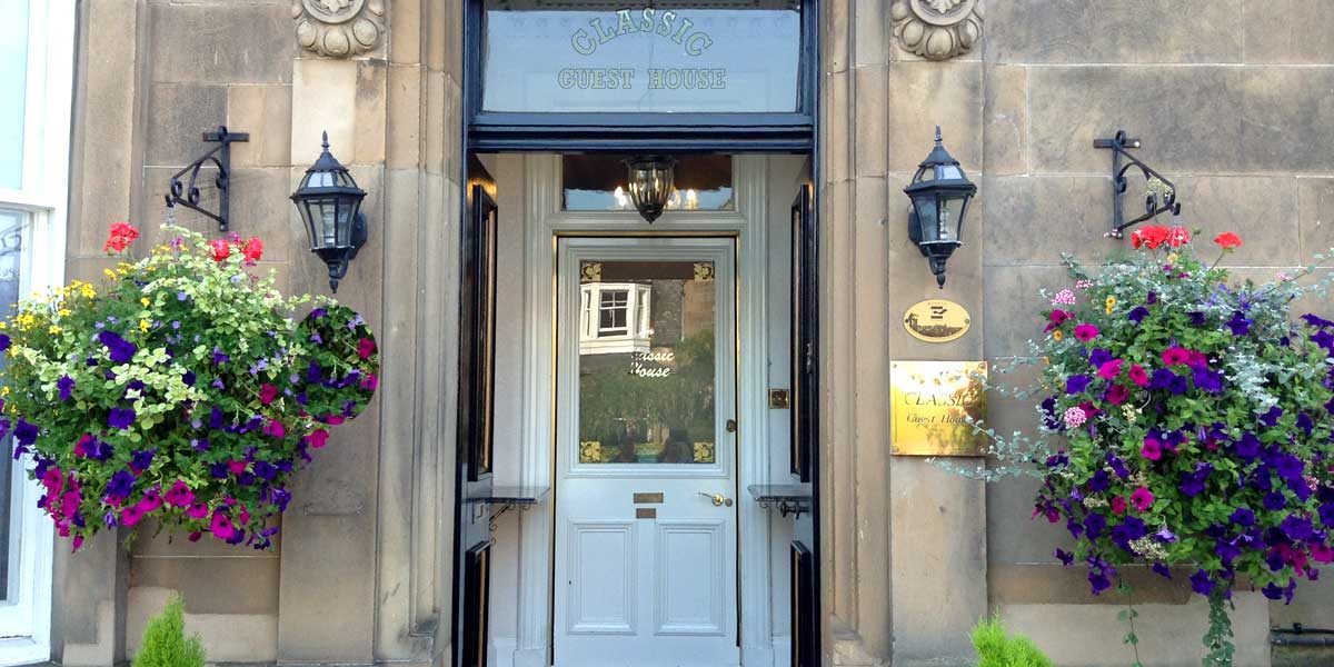 classic guest house edinburgh 3 star b b accommodation